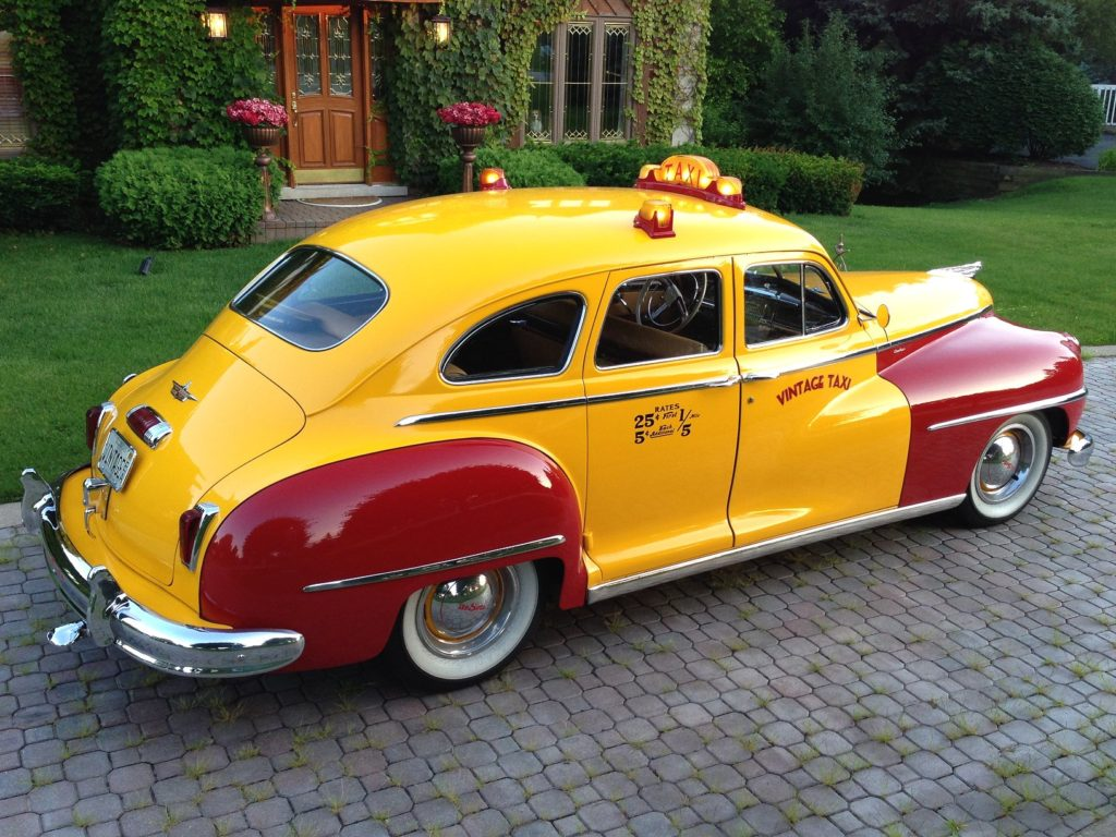 1947 Desoto S 11 Custom Taxi Hollywood Wheels Auction Shows