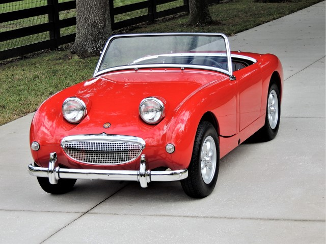 1959 Austin Healey Bugeye Sprite Hollywood Wheels Auctions Shows