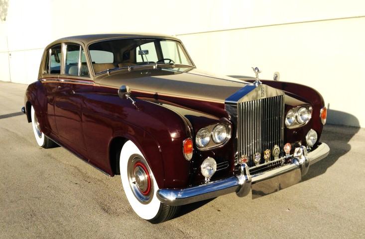 1963 rolls royce silver cloud iii hollywood wheels. Black Bedroom Furniture Sets. Home Design Ideas