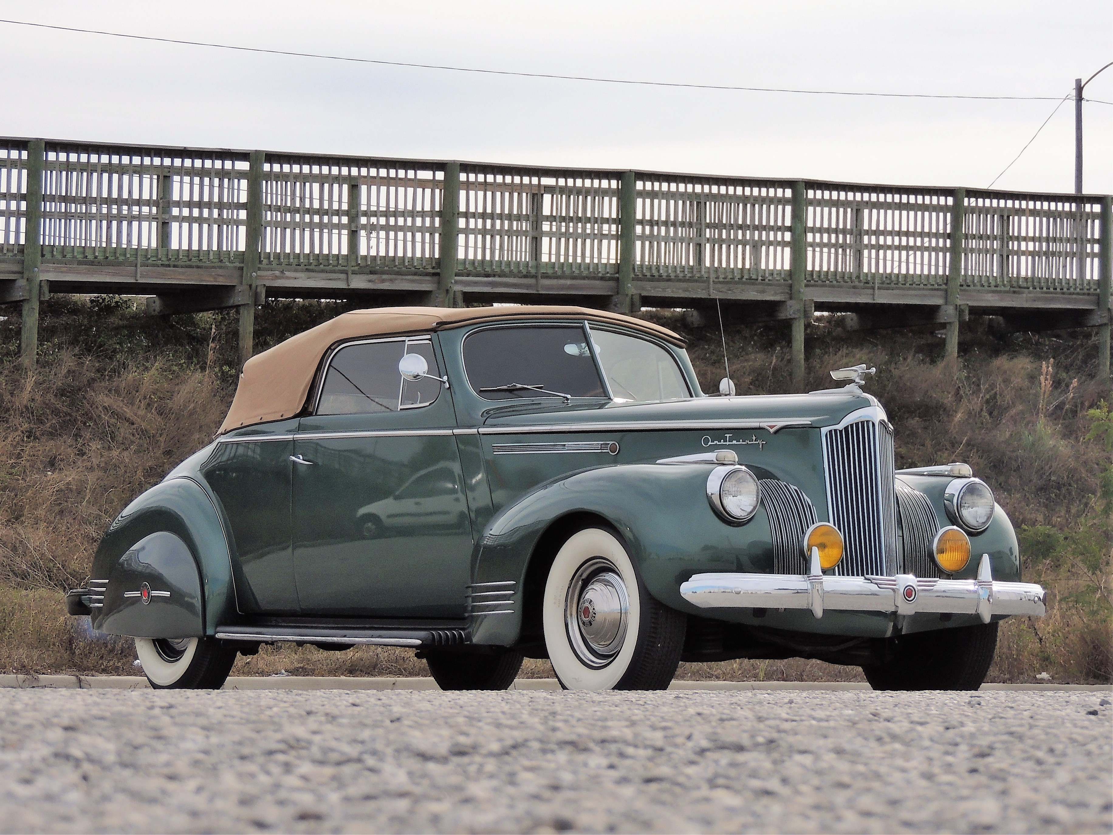1941 Packard 120 Convertible Hollywood Wheels Auctions