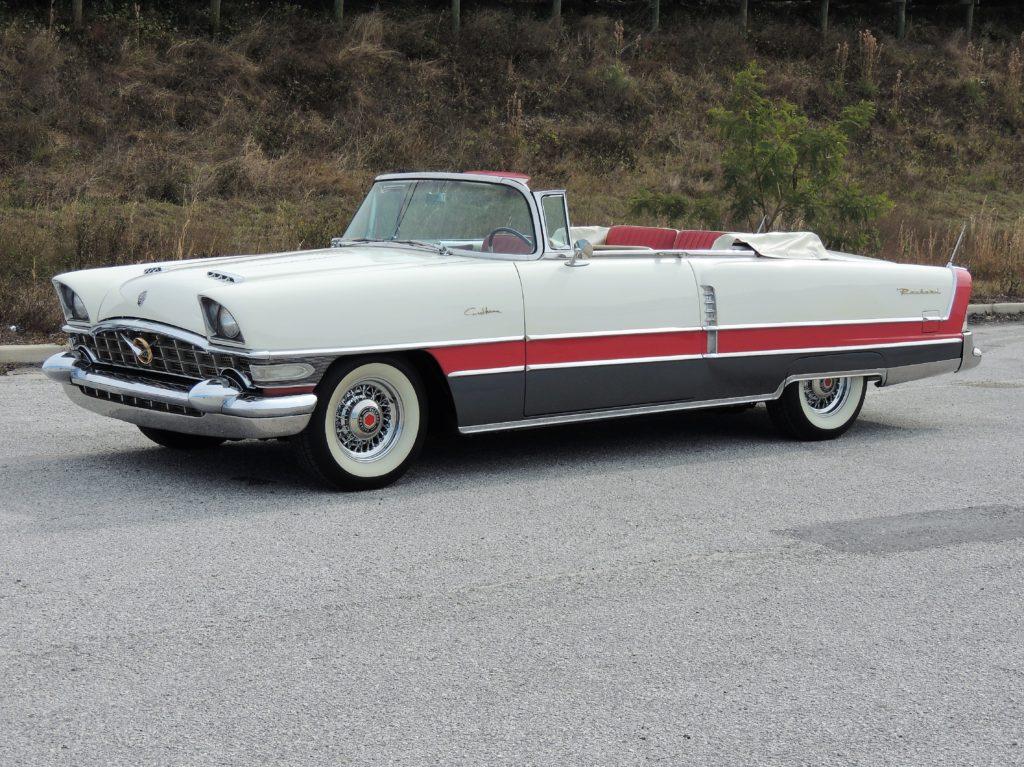 1956 Packard Caribbean Convertible 16 Facebook