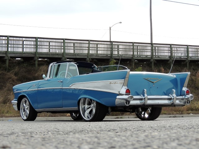 Chevy Bel Air Restomod Small on 1957 Chevy Convertible Wiring Harness