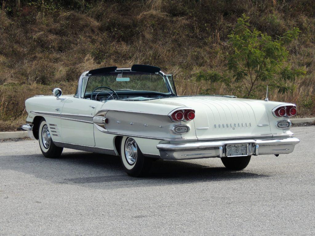 1958 Pontiac Bonneville Convertible Hollywood Wheels Auction Shows