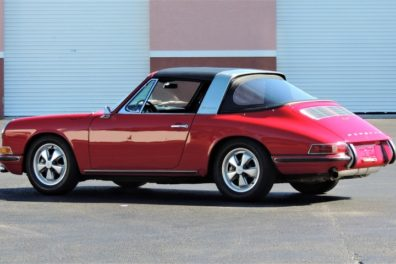 1967 Porsche 911 S Soft Window Targa