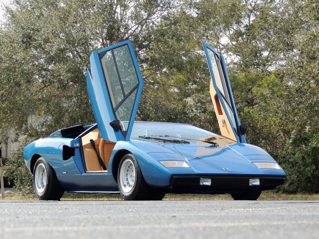 1975 Lamborghini Lp 400 Periscope Restored By Bob