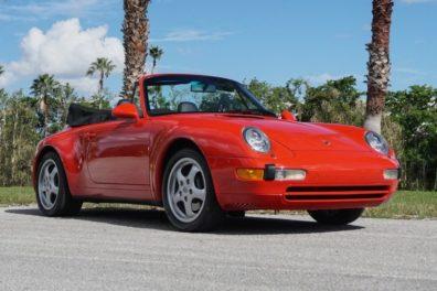 1998 Porsche Carrera Cabriolet
