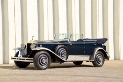1930 Rolls Royce Phantom I Newmarket Convertible Sedan