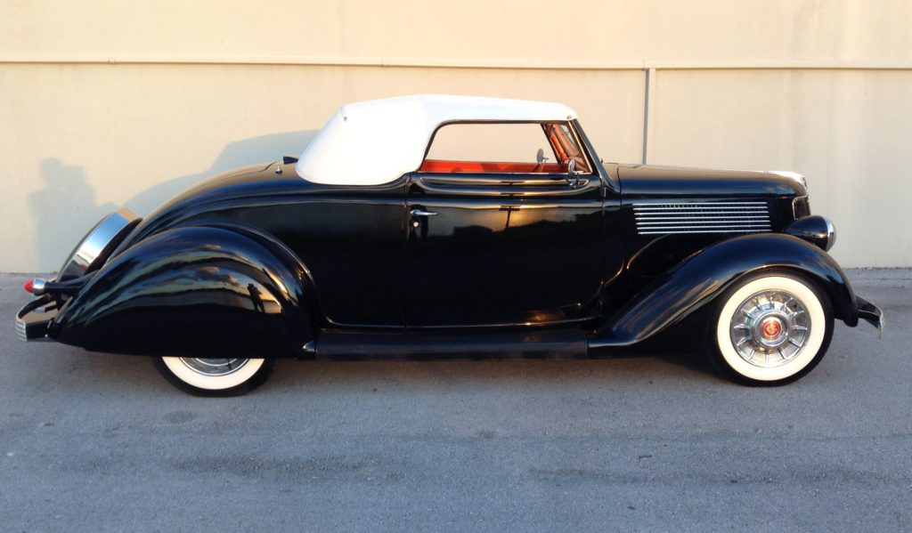 1936 Ford Carson Top Vintage Street Rod Hollywood Wheels