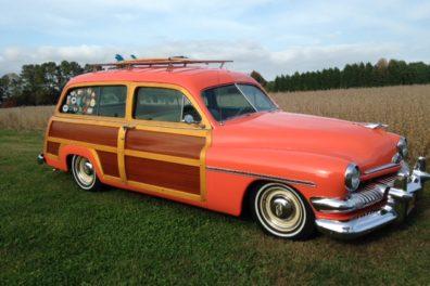 1951 Mercury Woody Wagon Restomod
