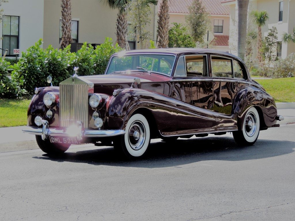 1956 rolls royce silver wraith - hollywood wheels auction shows