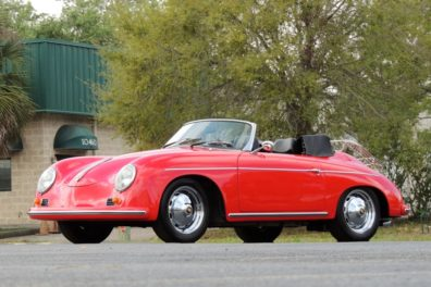 1957 / 1989 Porsche 356A Cabriolet Recreation