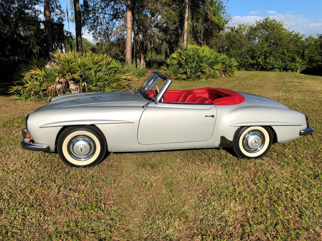 1960 mercedes benz 190sl hollywood wheels auction shows toyota wiring harness mercedes 190sl wiring harness #2