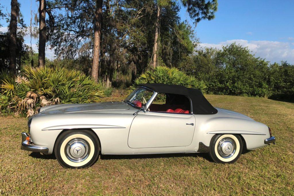 Super 1960 Mercedes Benz 190Sl Hollywood Wheels Auction Shows Wiring Digital Resources Millslowmaporg