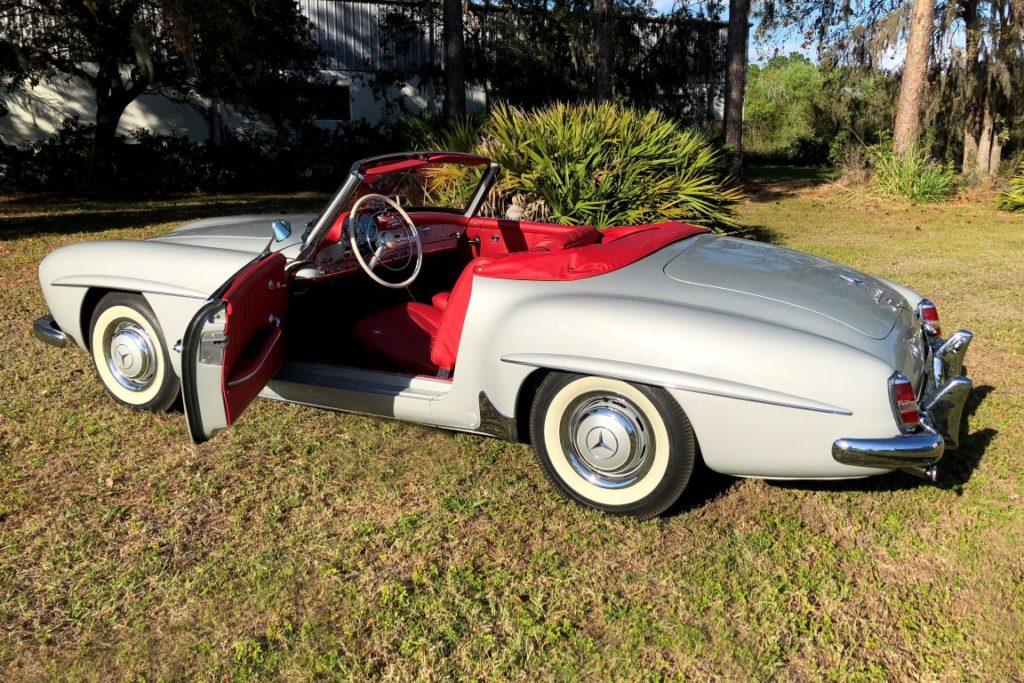 Miraculous 1960 Mercedes Benz 190Sl Hollywood Wheels Auction Shows Wiring Digital Resources Millslowmaporg
