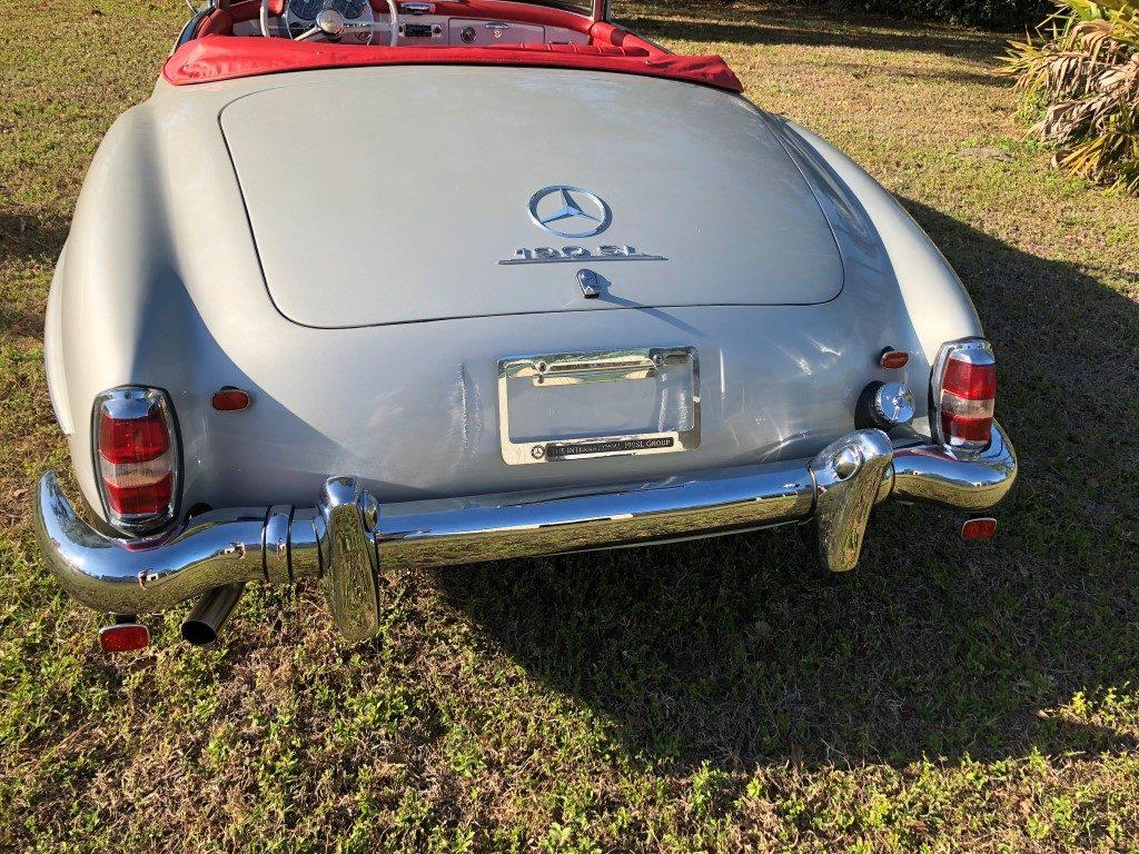 Strange 1960 Mercedes Benz 190Sl Hollywood Wheels Auction Shows Wiring Digital Resources Millslowmaporg