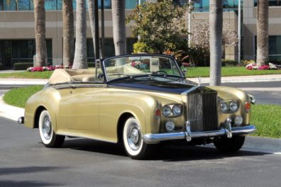 1963 Rolls Royce Silver Cloud III Drophead Coupe Conversion