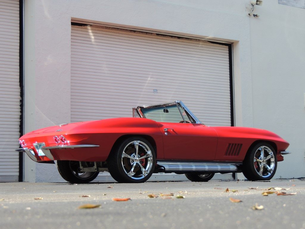1966 Chevy Corvette Convertible Restomod Hollywood