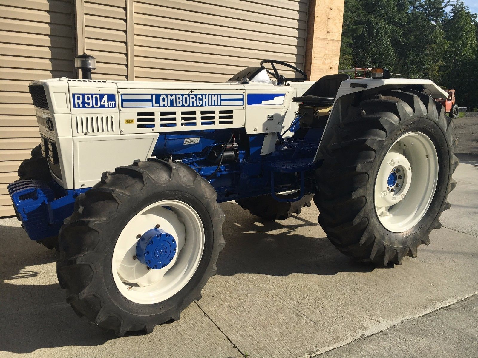 1972 Lamborghini R904dt Tractor Hollywood Wheels Auction Shows