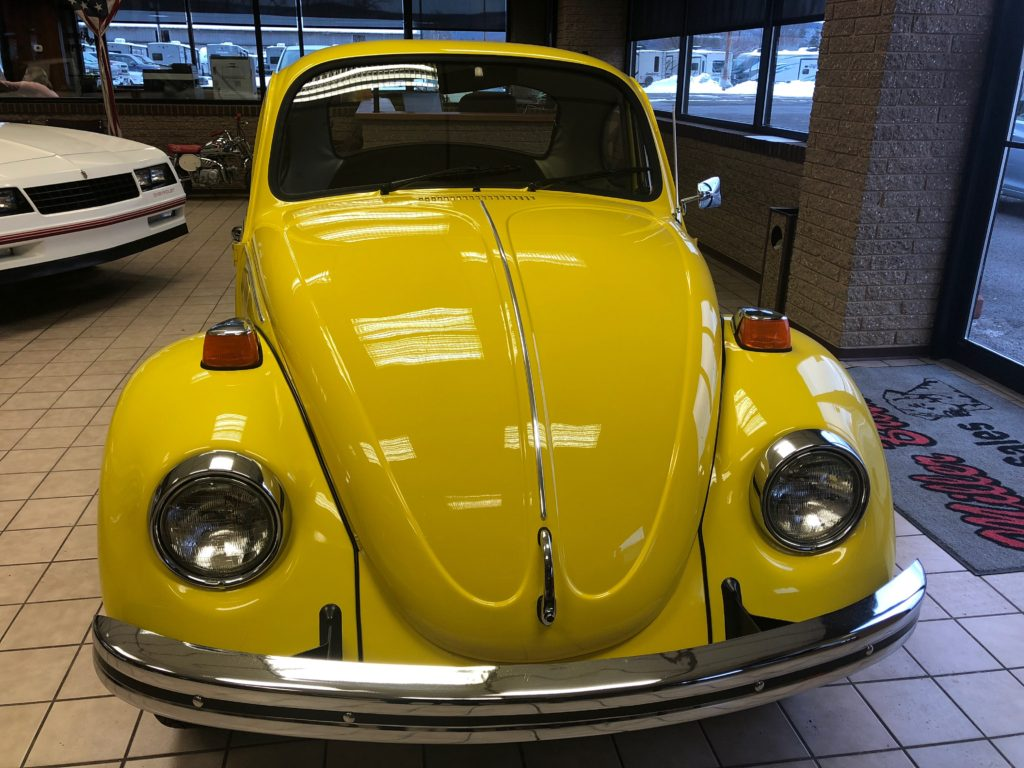 1974 Volkswagen Beetle Shorty Hollywood Wheels Auction Shows