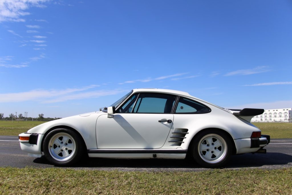 1987 Porsche 930 Turbo Slantnose Hollywood Wheels Auction Shows