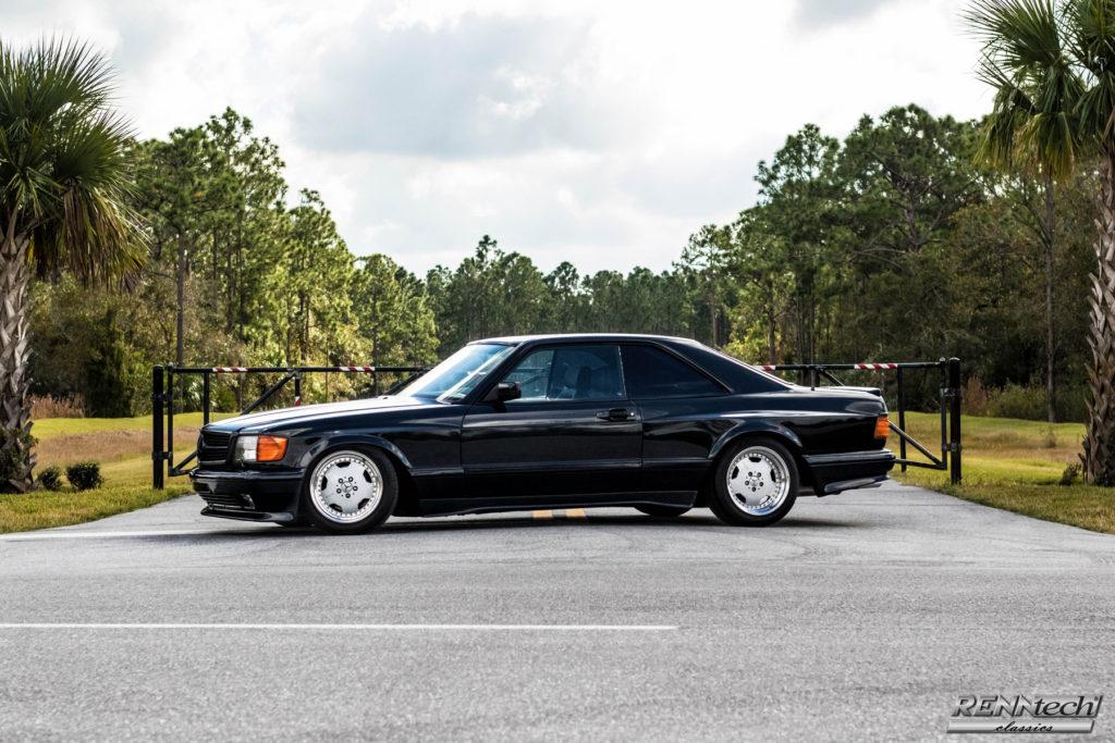 1990 Mercedes Benz 560 SEC AMG Wide Body 6 0 4V - Hollywood Wheels