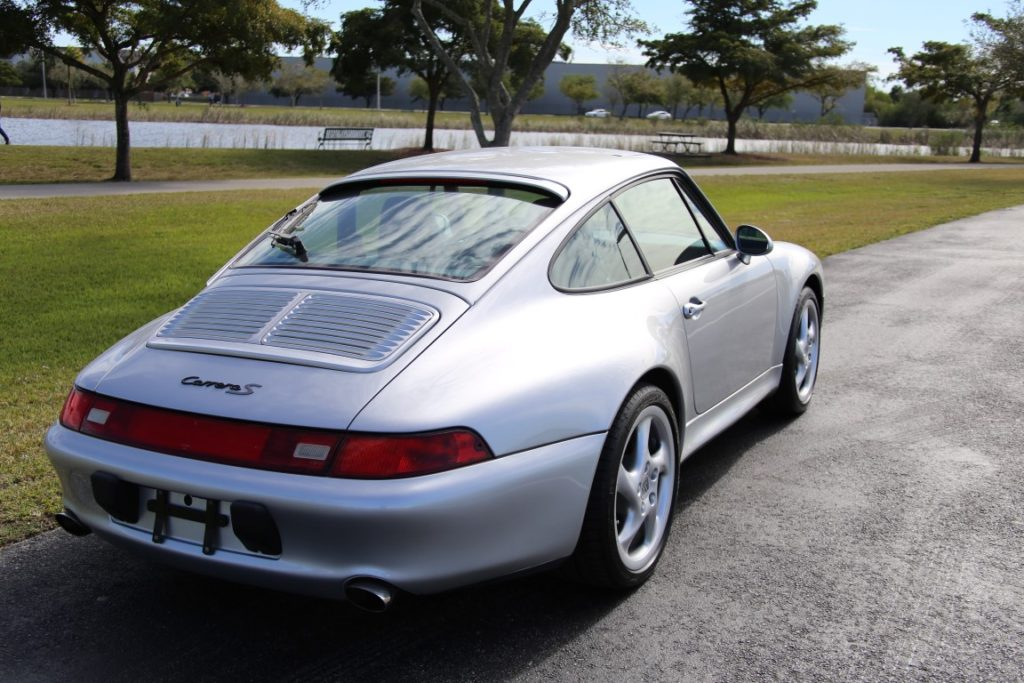 1997 Porsche 993 Carrera S Hollywood Wheels Auction Shows