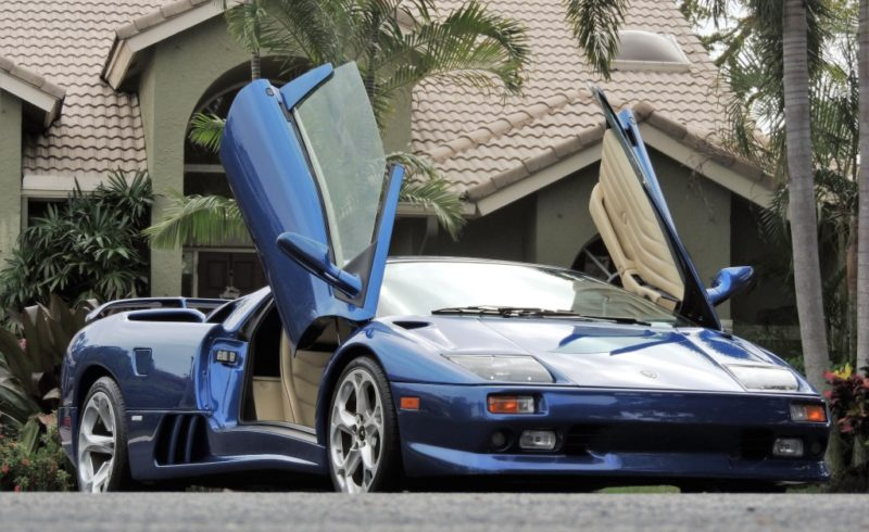 1999 Lamborghini Diablo Vt Roadster Hollywood Wheels Auction Shows