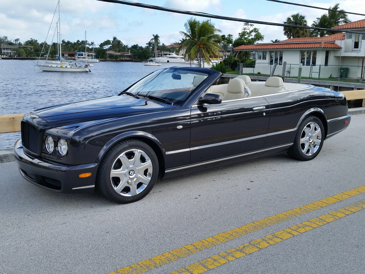 2007 Bentley Azure Hollywood Wheels Auction Shows