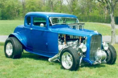 1932 Ford 5 Window Coupe Hot Rod