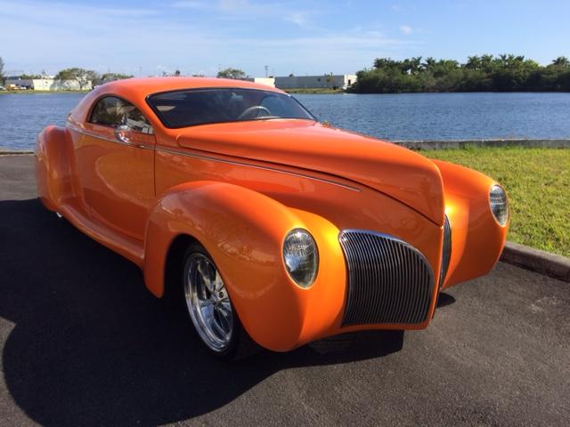 1939 lincoln zephyr custom street rod hollywood wheels auction shows Lincoln Lincoln Luxury Car