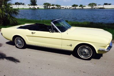 1966 Ford Mustang Sprint Convertible