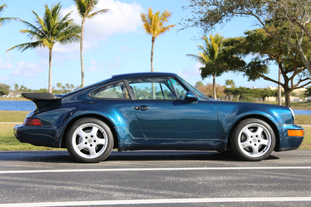 1991 Porsche 964 Turbo Hollywood Wheels Auction Shows
