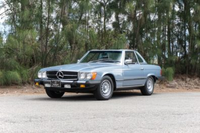 1985 Mercedes Benz 380SL Convertible