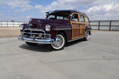 1950 Plymouth Suburban Woody Station Wagon