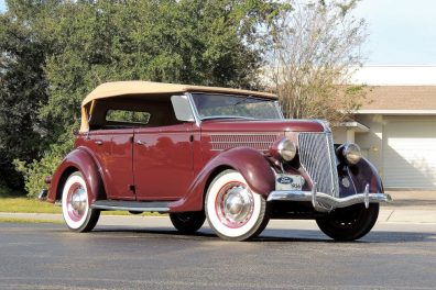1936 Ford Model 750 Deluxe Phaeton