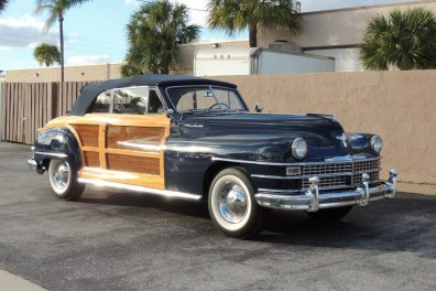 SOLD!!!  1948 Chrysler Town & Country Convertible  SOLD!!