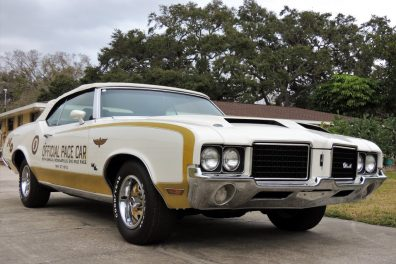 1972 Oldsmobile Hurst Pace Car Convertible