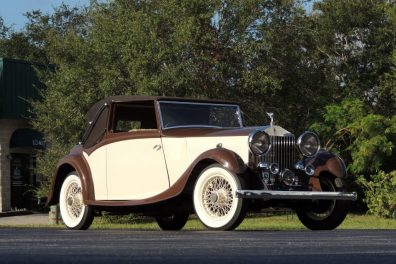 1934 Rolls Royce 20/25 3 Position Sedanca Drop Head Coupe