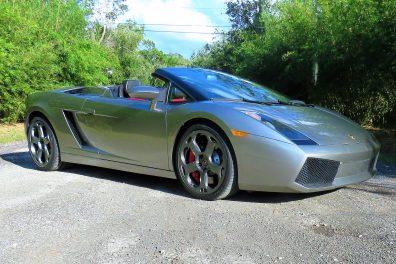2006 Lamborghini Gallardo Spyder Convertible