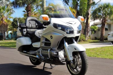 2012 Honda Gold Wing GL1800 Airbag Motorcycle